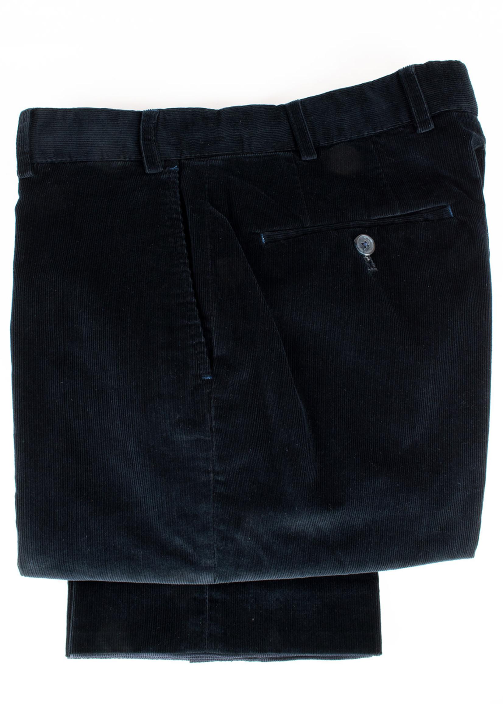 Hiltl Parma Pant Graphite Cotton Elastane Pin Corduroy by Hiltl