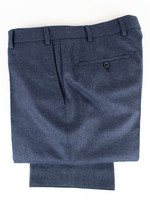 Hiltl Hiltl Piacenza Pant Navy Carded Woolen Flannel