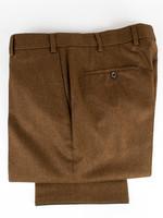 Hiltl Piacenza Pant Rust Carded Woolen Flannel by Hiltl