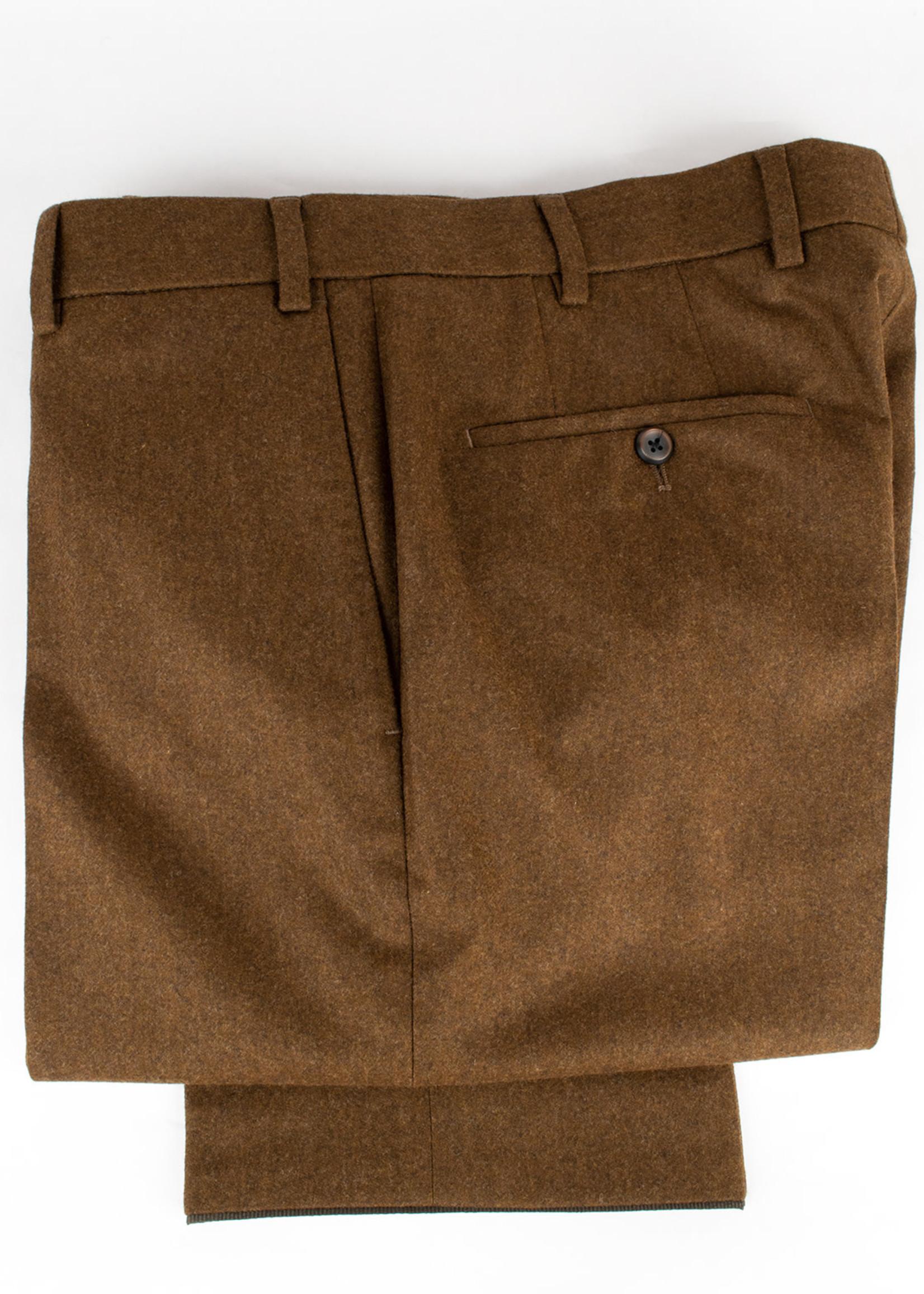 Hiltl Hiltl Piacenza Pant Rust Carded Woolen Flannel
