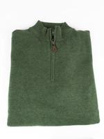 Alan Paine Alan Paine  Cairns Rosemary Geelong 1/4 Zip Mock Neck Sweater