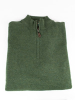Alan Paine Cairns Rosemary Geelong 1/4 Zip Mock Neck Sweater by Alan Paine