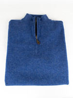 Alan Paine Cairns Ullswater Geelong 1/4 Zip Mock Neck Sweater by Alan Paine