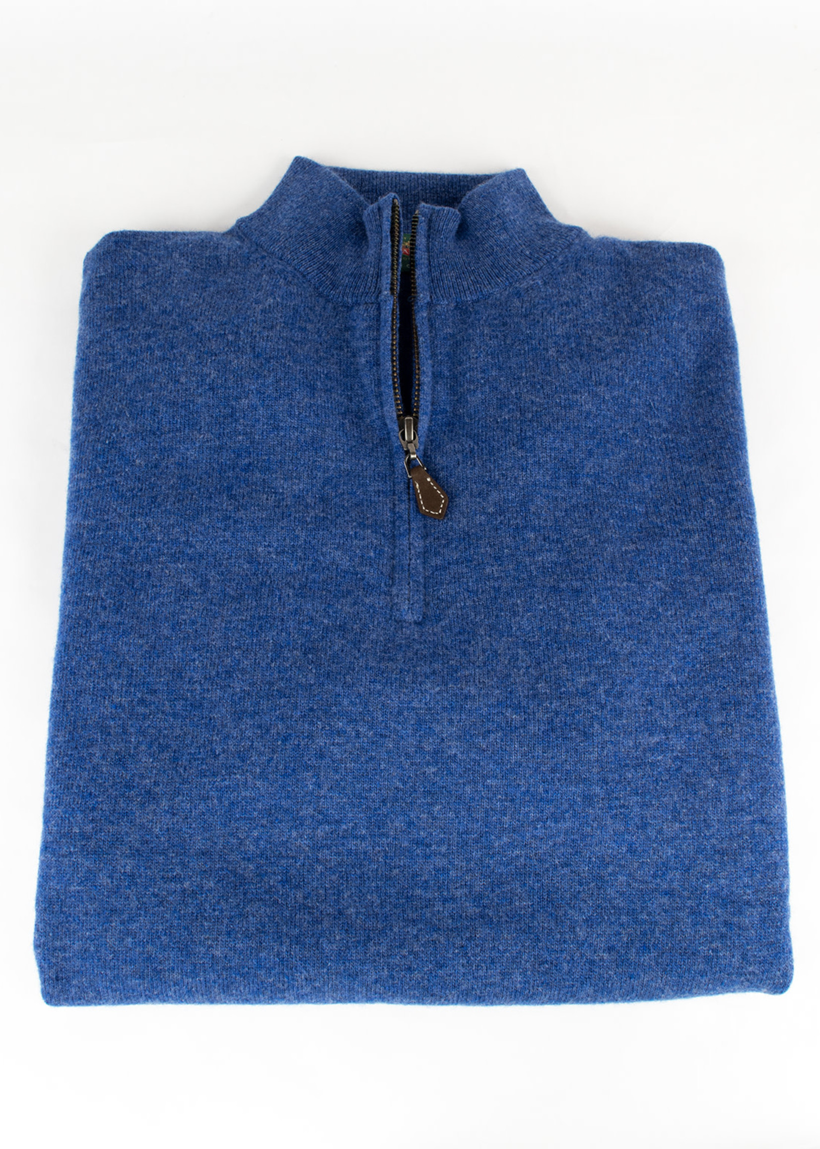 Alan Paine Alan Paine Cairns Ullswater Geelong 1/4 Zip Mock Neck Sweater by Alan Paine