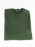 Alan Paine Kendal Rosemary Geelong Lambswool Crew Neck Sweater by Alan Paine