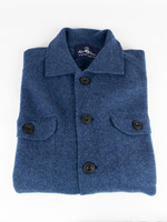Alan Paine Tutbury Rhapsody Boiled Lambswool Knit Shirt By Alan Paine