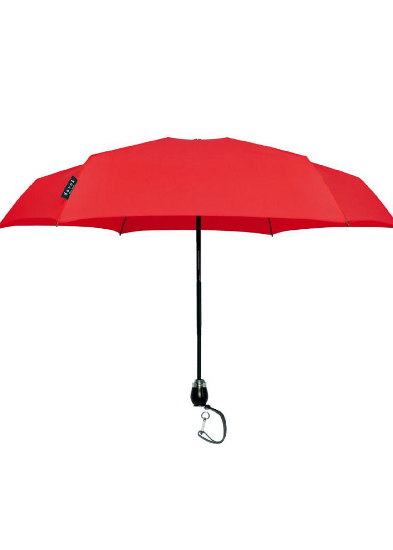 Davek Traveler Umbrella Red