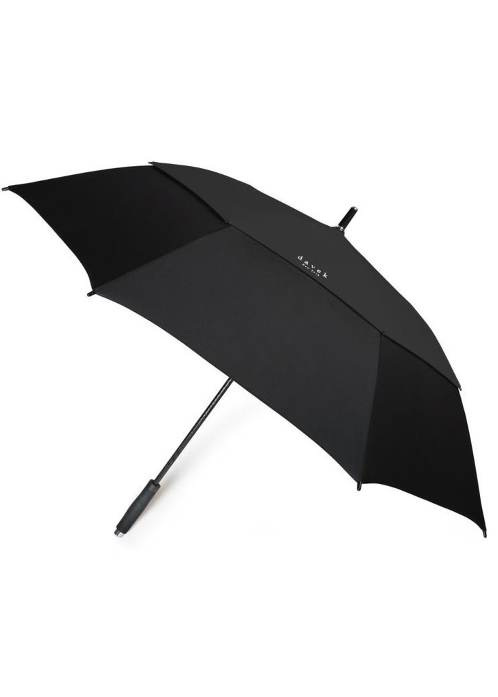 Davek Golf Umbrella Black