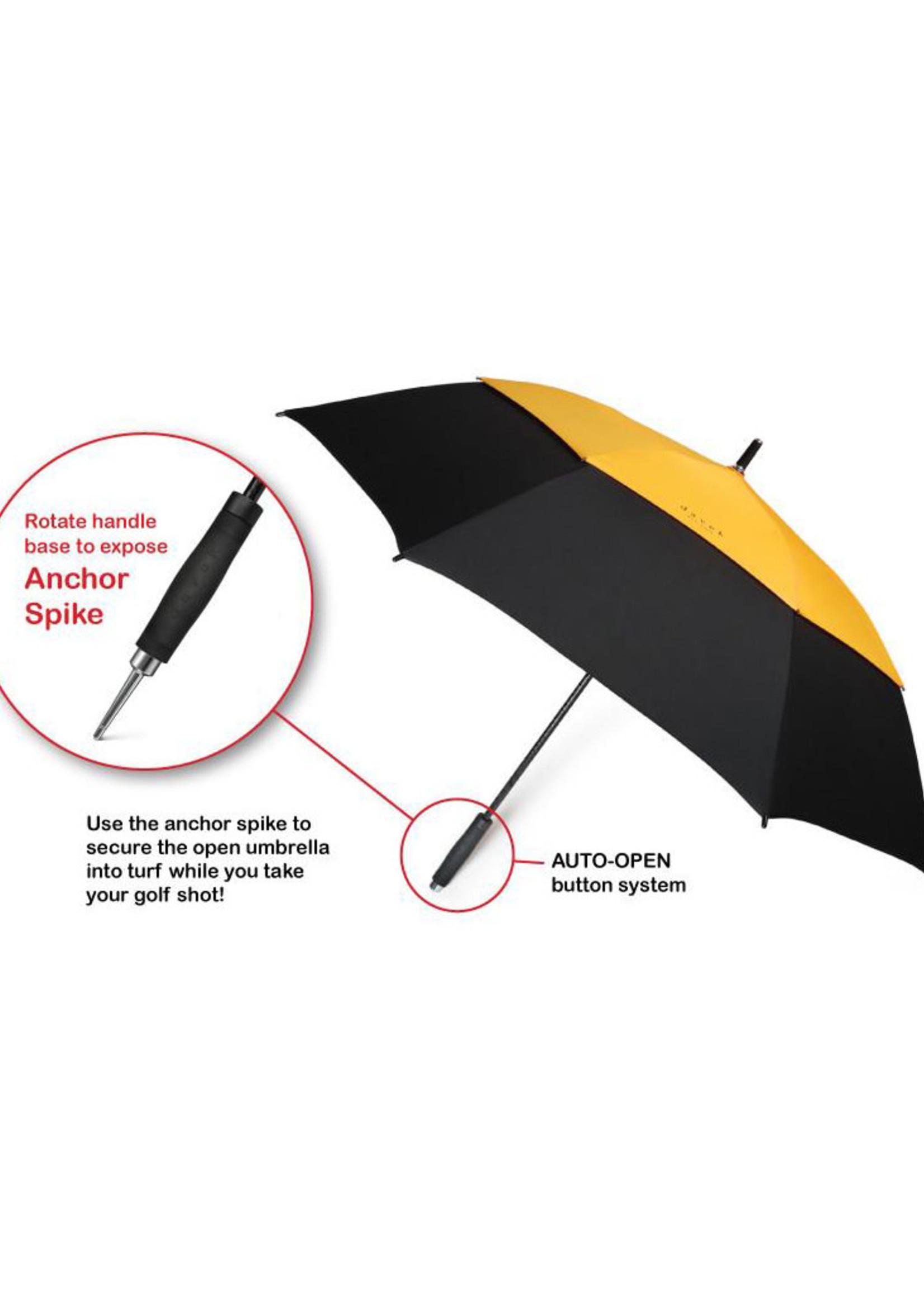 Golf Umbrella Black by Davek