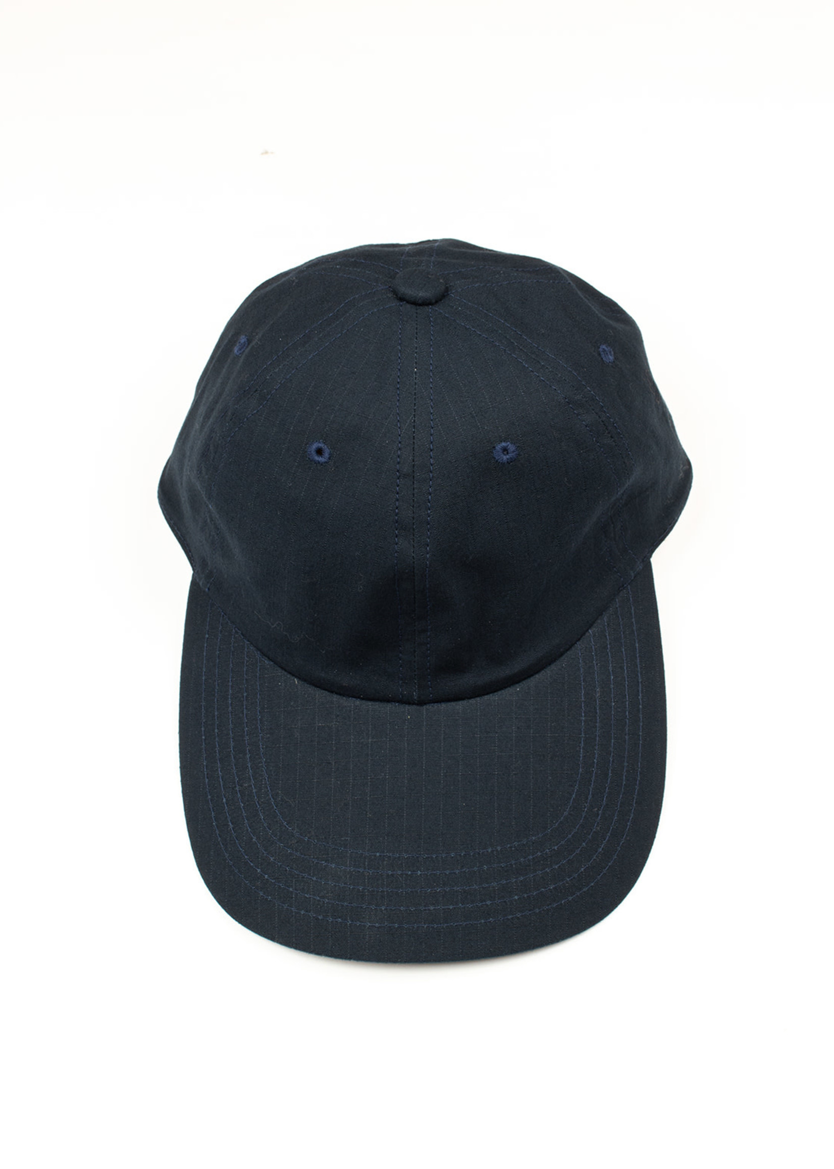 Cableami Gary Rip Stop Long Bill Cap Navy