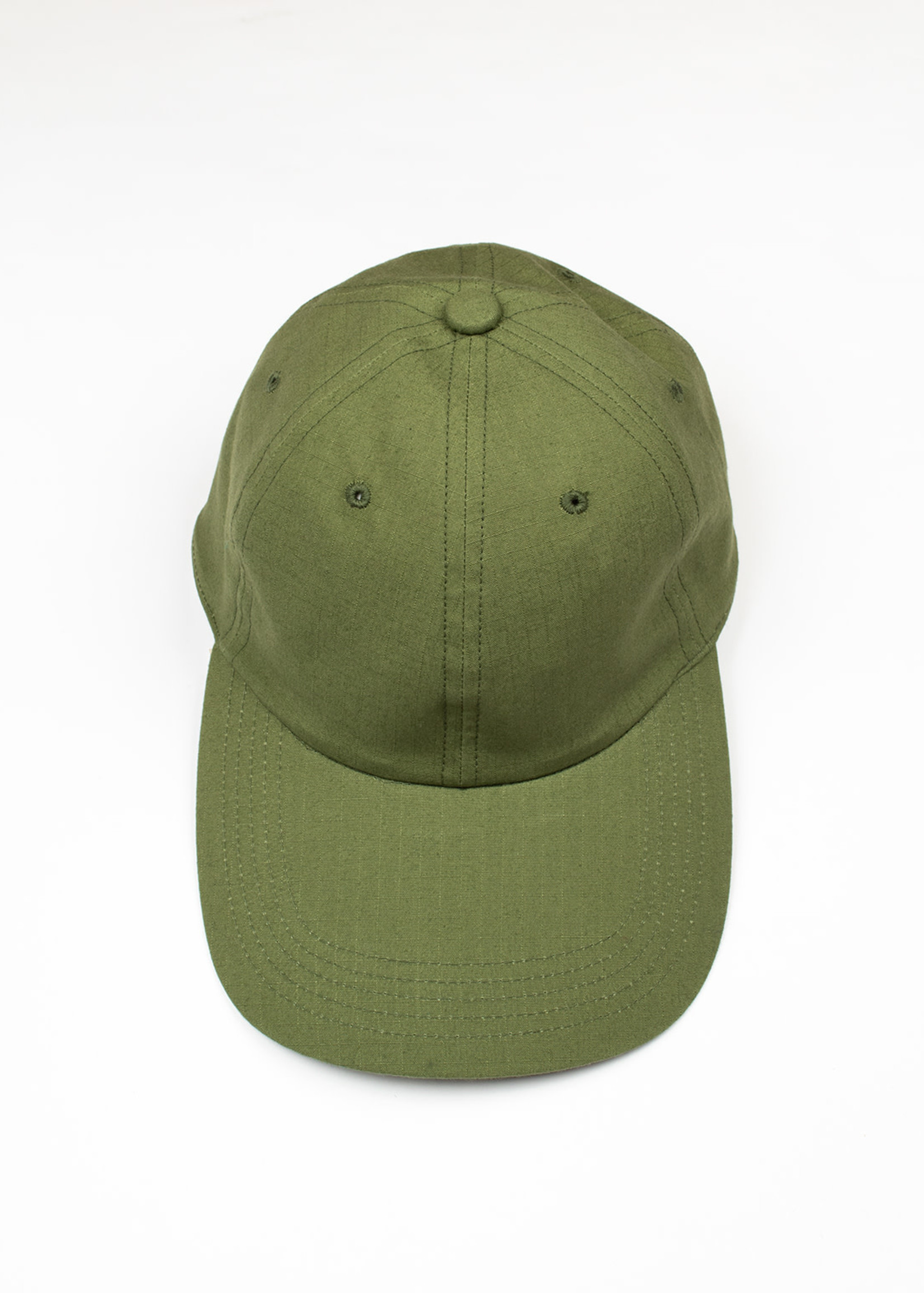 Cableami Gary Rip Stop Long Bill Cap Olive