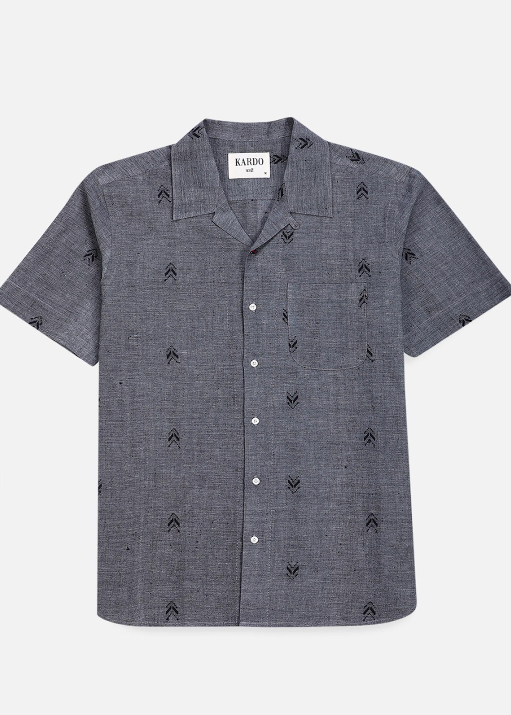 Kardo Kardo Lamar Grey Short Sleeve Shirt