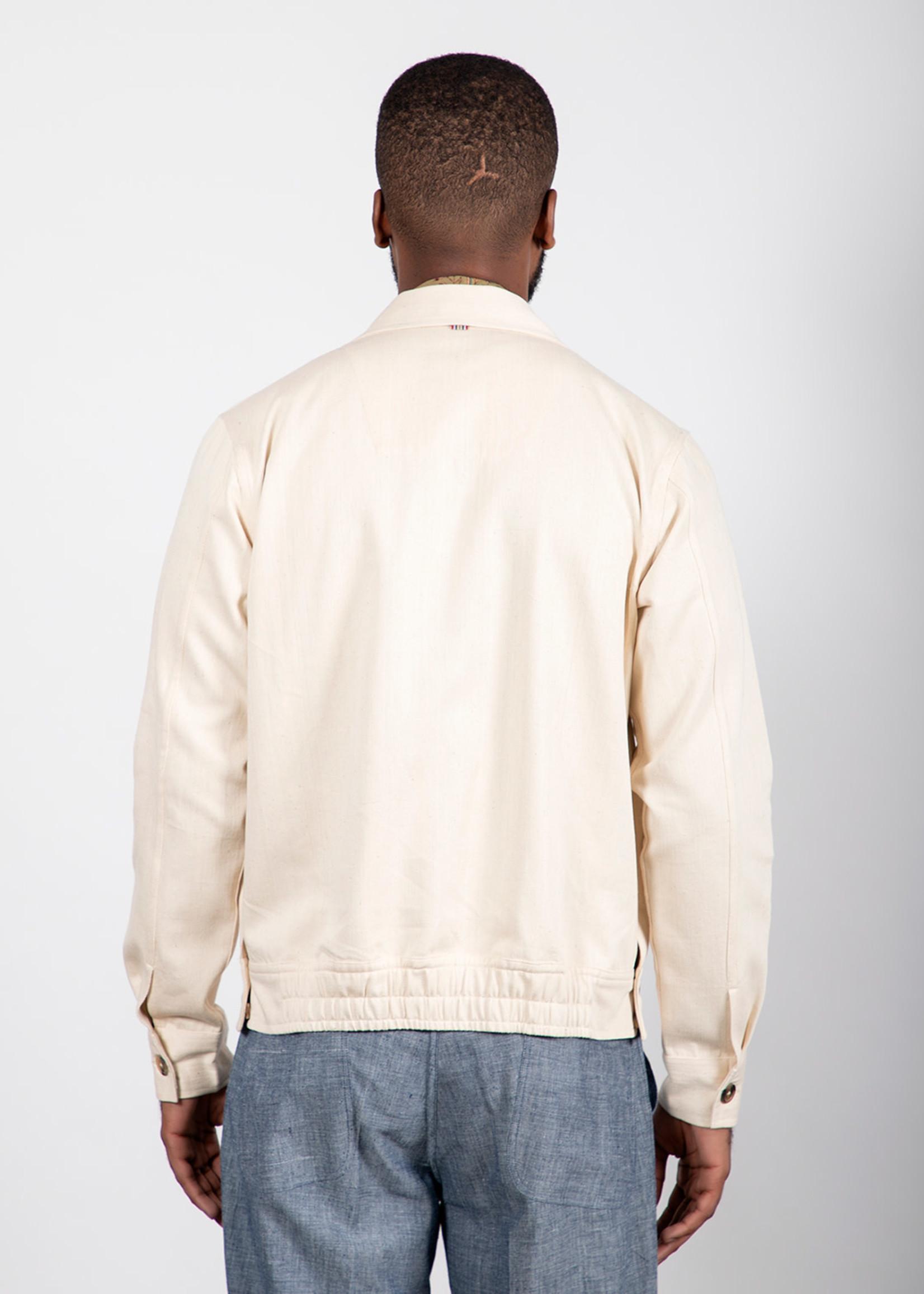 Kardo Kardo Stephane Natural Handloom Denim Jacket