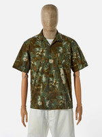 Universal Works Universal Works Road Shirt Olive Space Camo