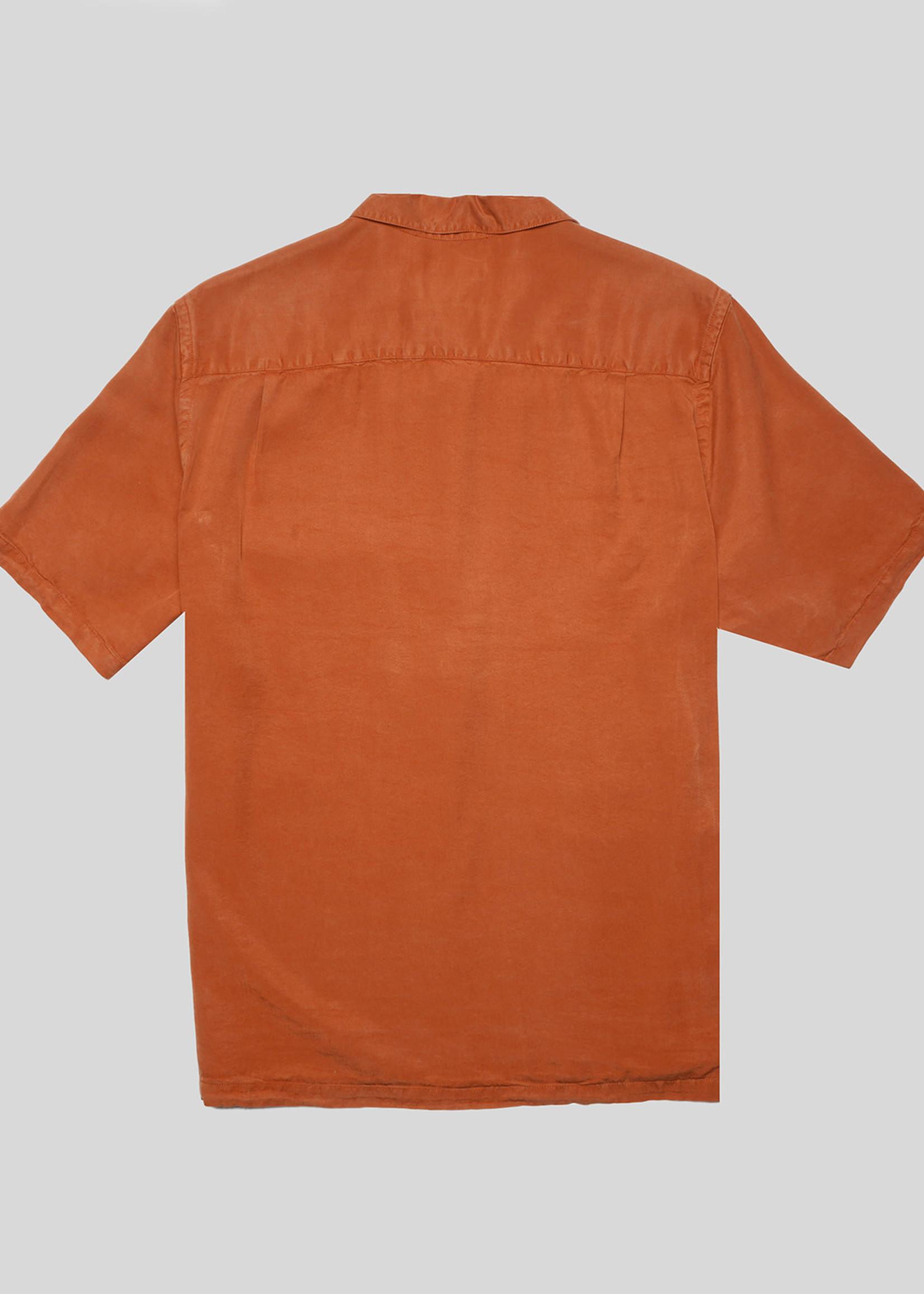 Portuguese Flannel Portuguese Flannel Dogtown Terracotta Camp Collar