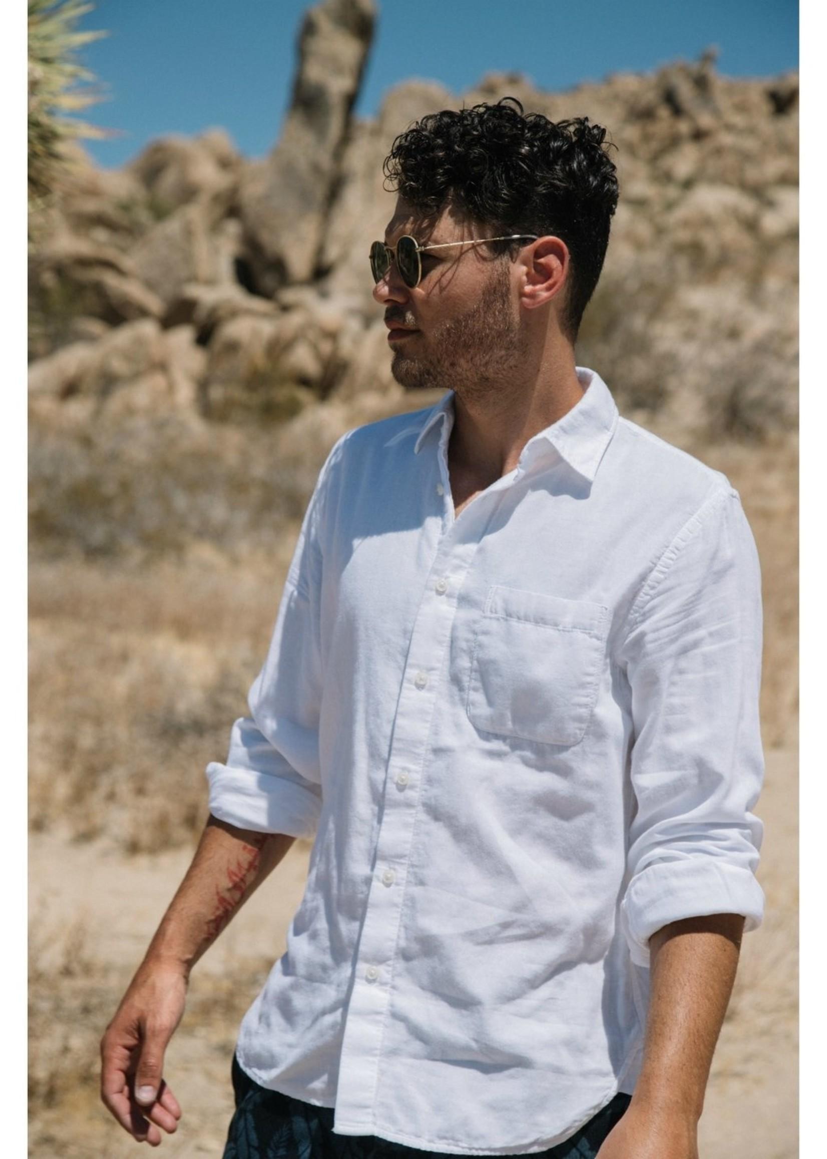 Kato Kato White Vintage Double Gauze Shirt