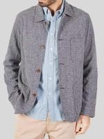Portuguese Flannel Portuguese Flannel Labura Raw Blue Chore Jacket