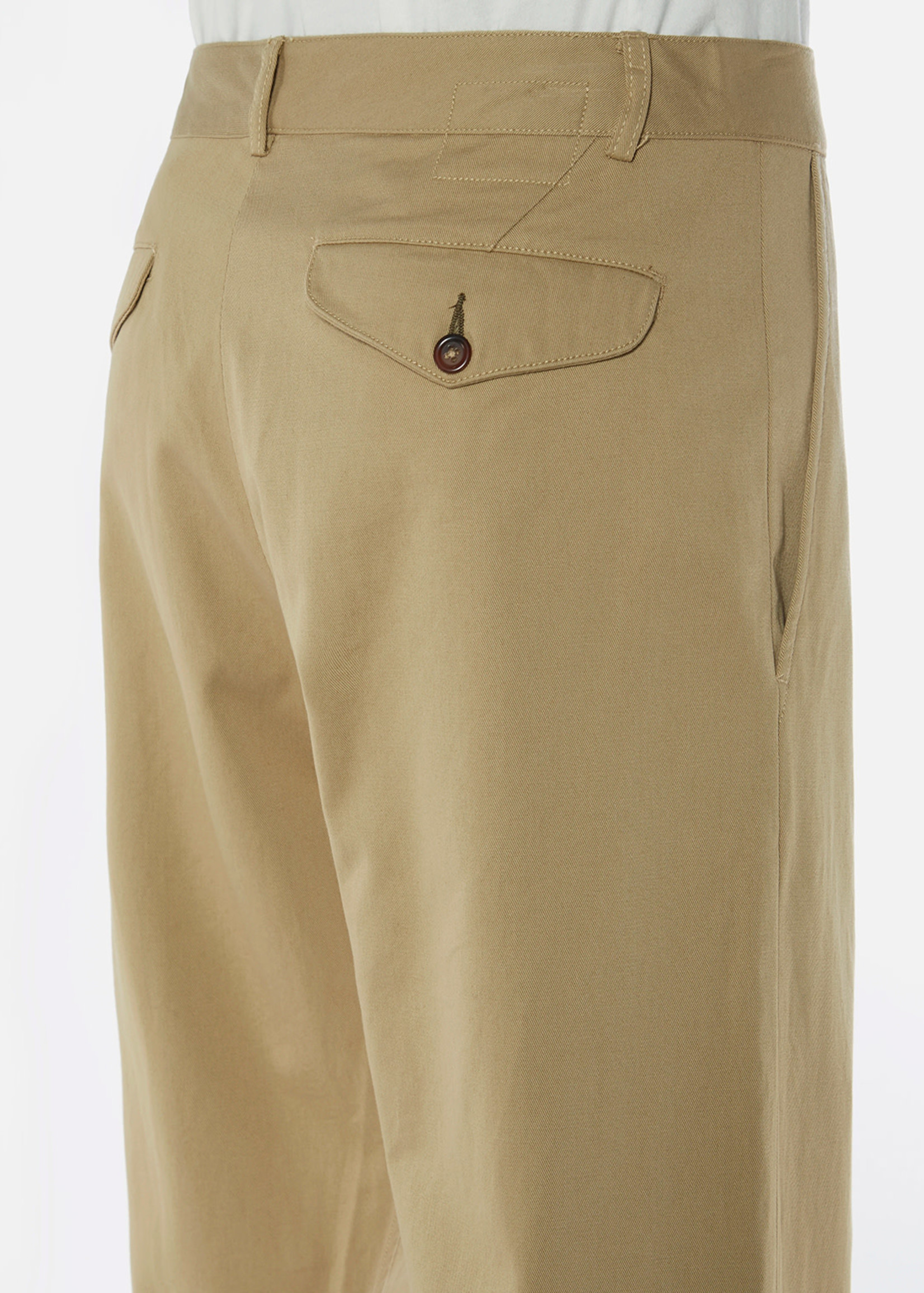 Universal Works Universal Works Aston Pant Tan Cotton Twill