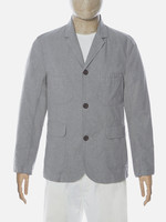 Universal Works Universal Works Barra Jacket Grey Cotton Suiting