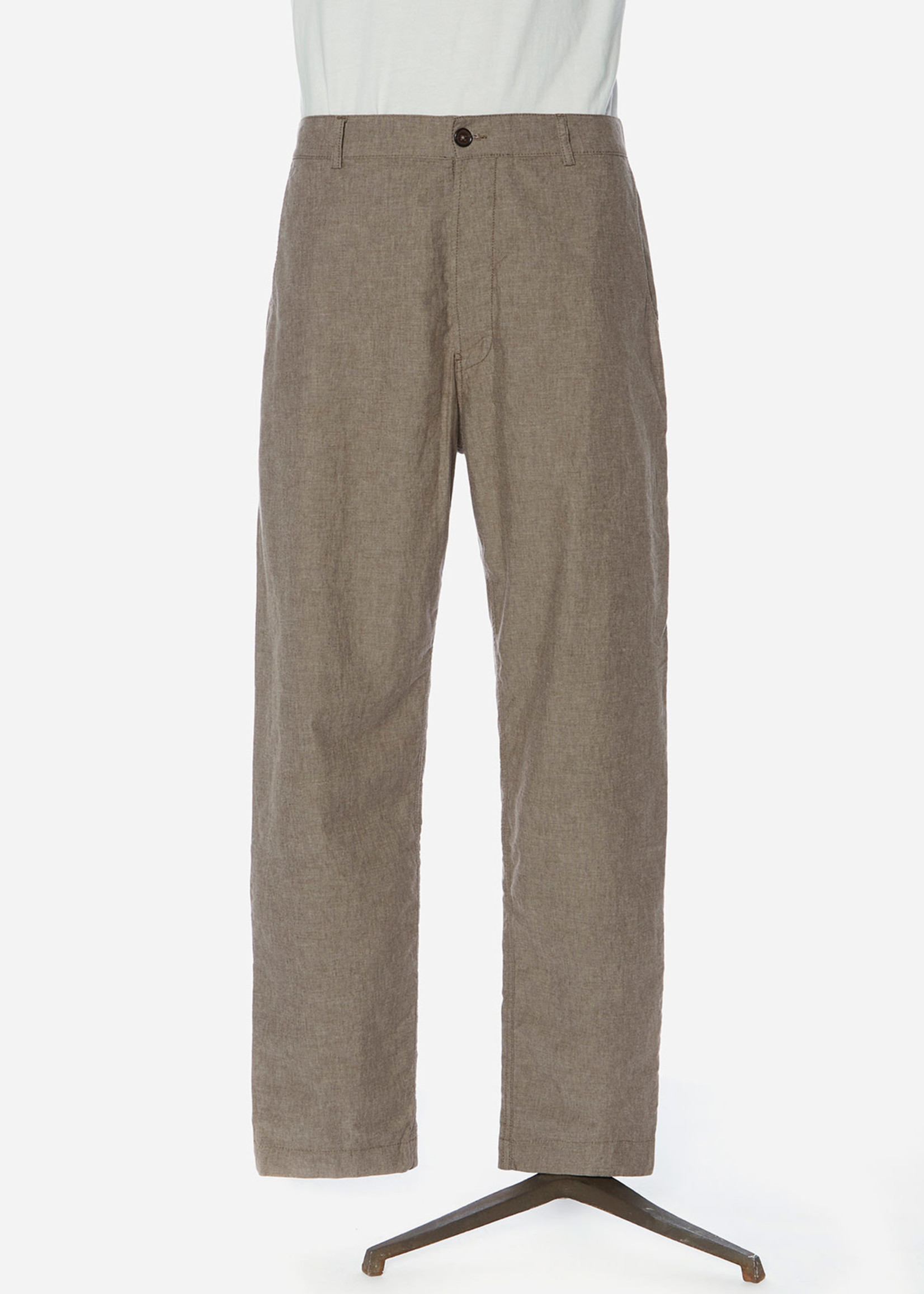 Universal Works Universal Works Military Chino Sand Cotton Washed Suiting