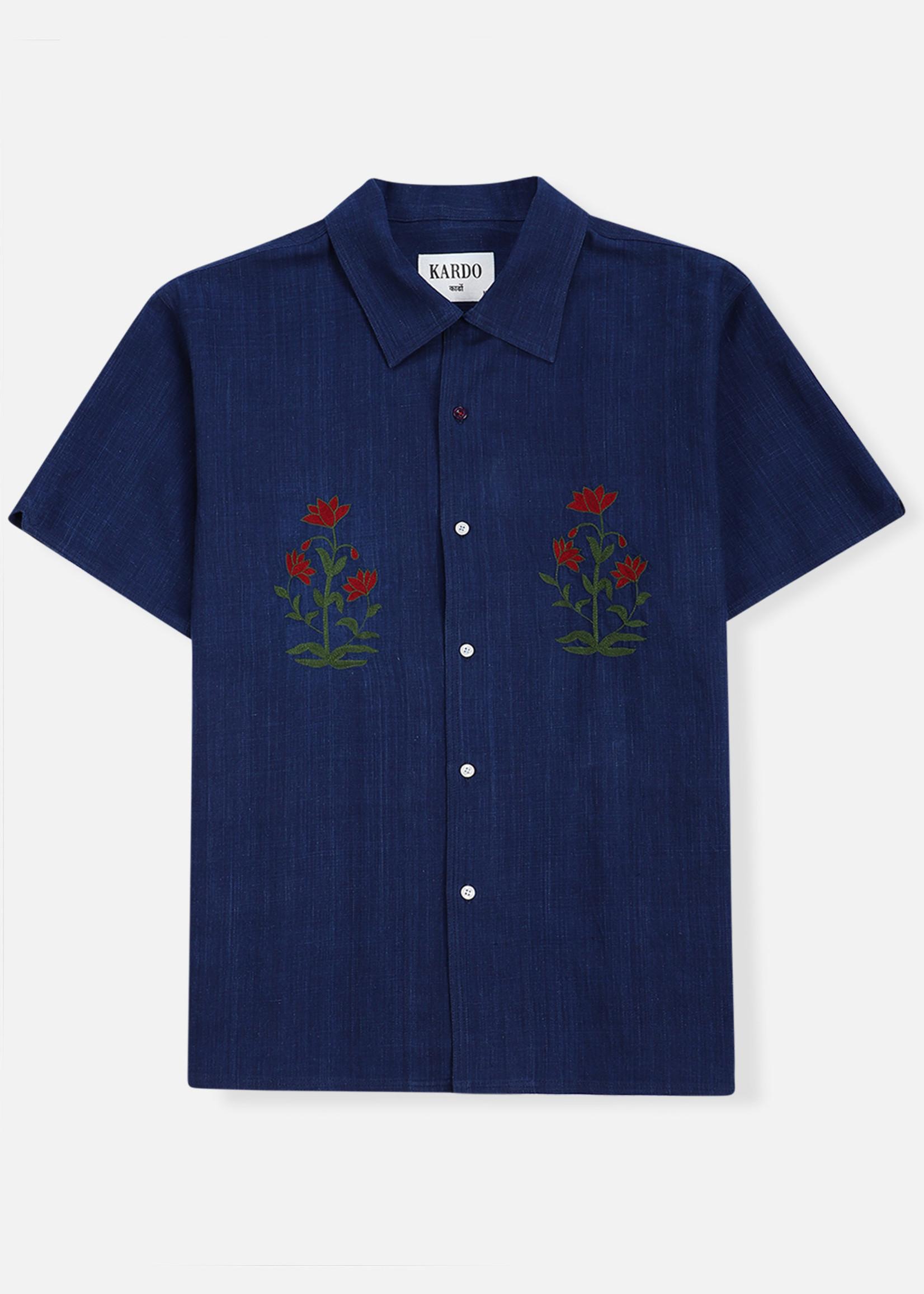 Kardo Kardo Lamar Chambray Short Sleeve Shirt