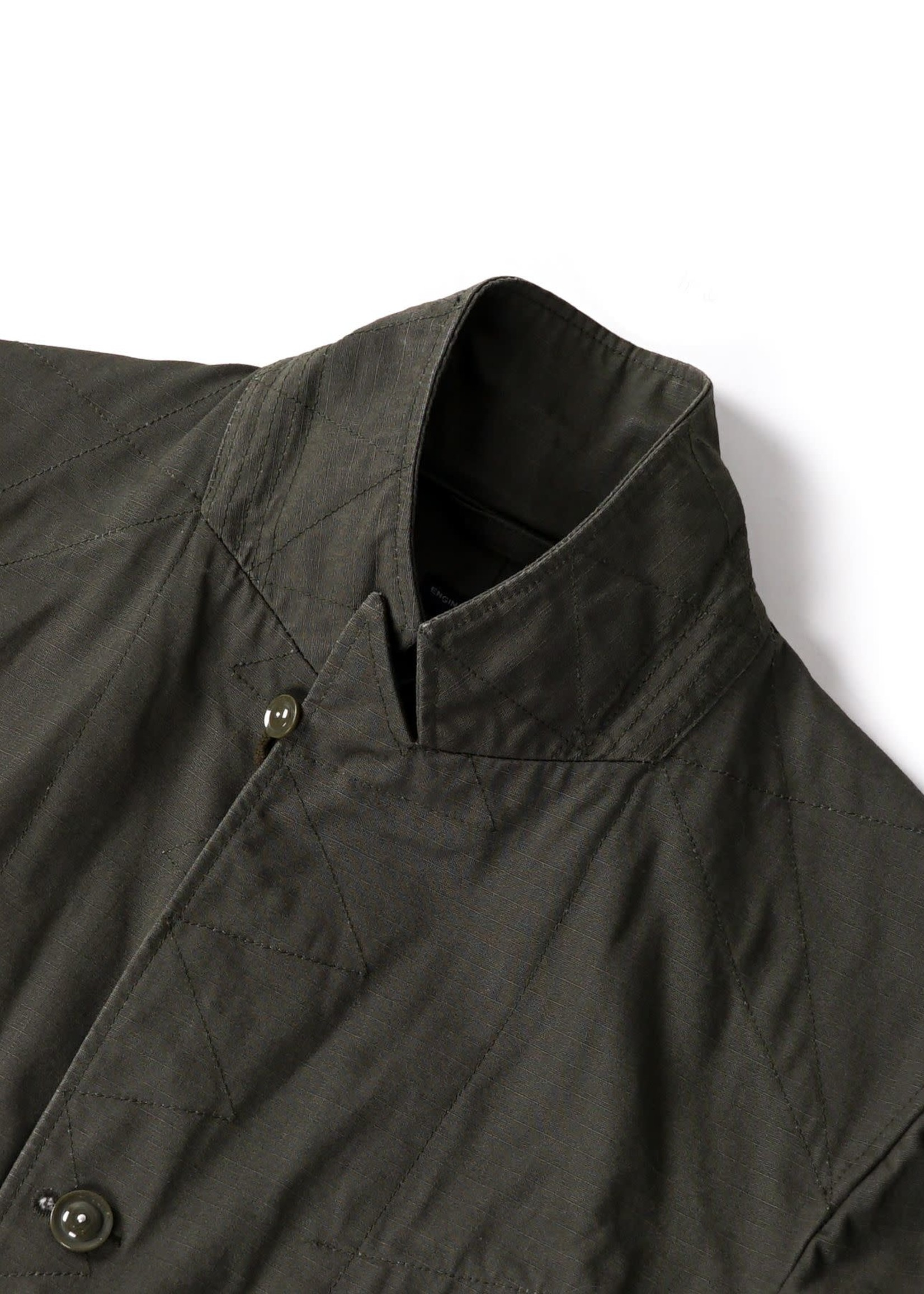 Engineered Garments Engineered Garments Bedford Jacket Olive Heavy Weight Cotton Ripstop