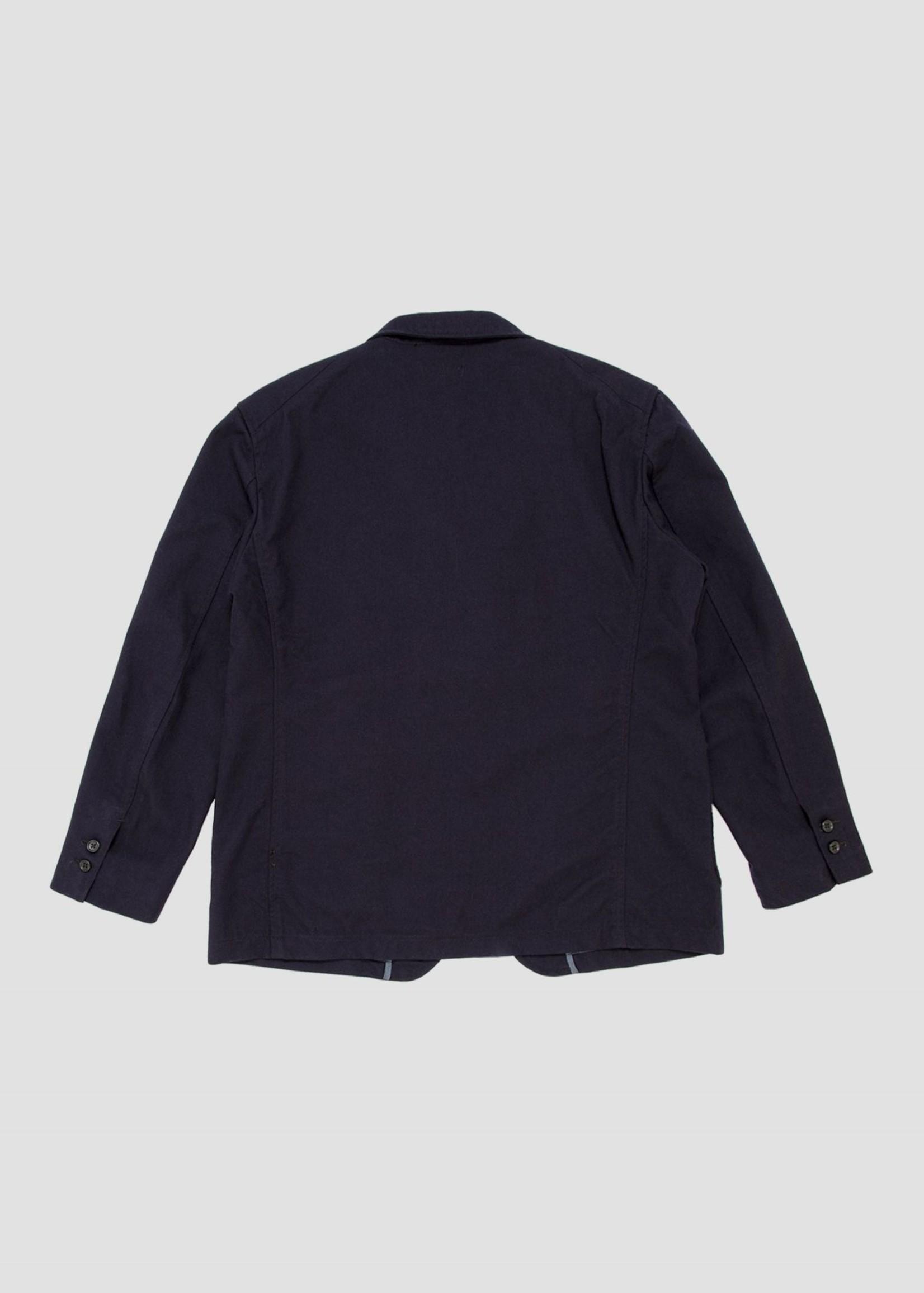 Engineered Garments Engineered Garments New Bedford Jacket Dark Navy / Uniform Serge (21F1D004)