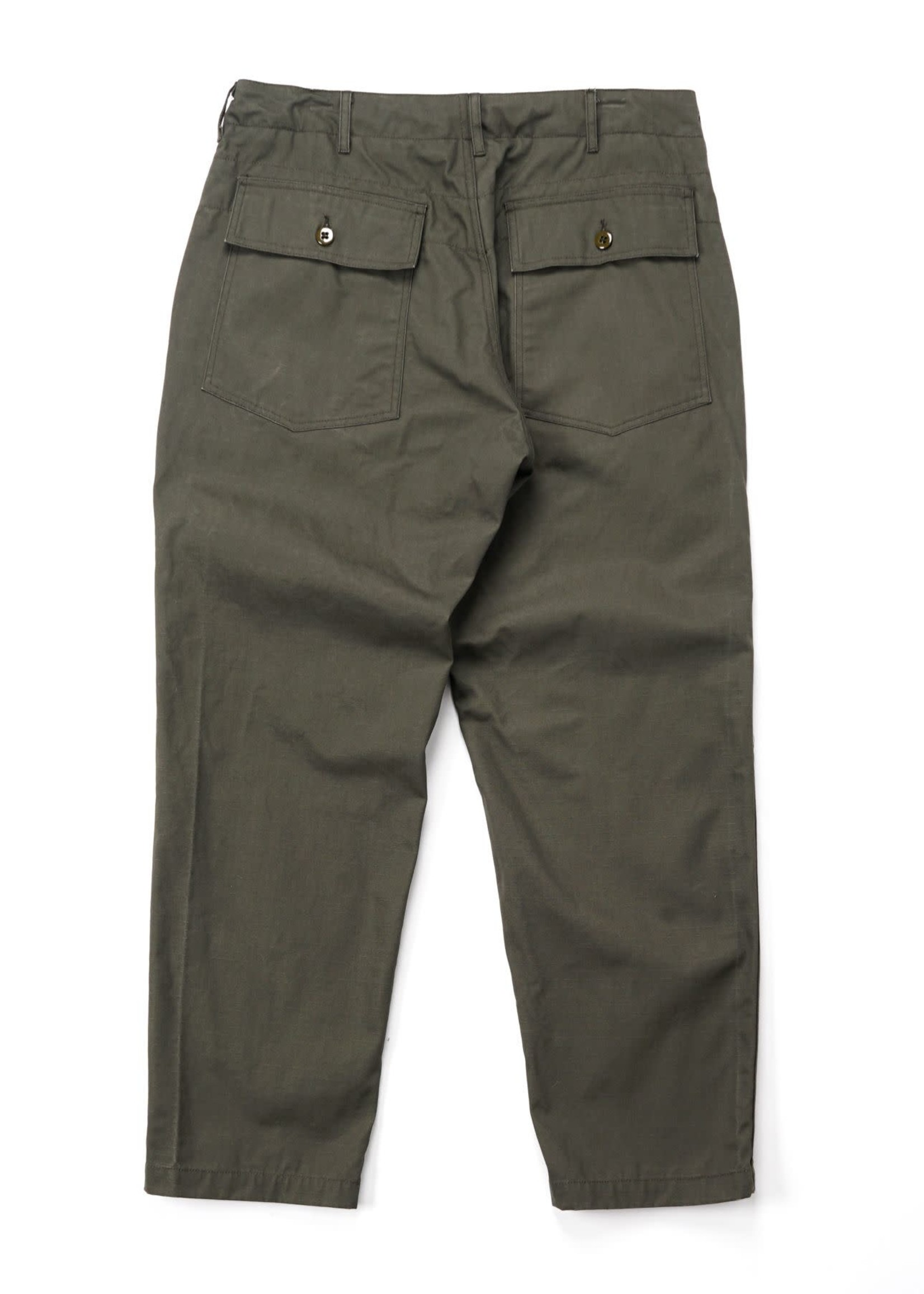 Engineered Garments Engineered Garments Fatigue Pant Olive Heavy Cotton Ripstop