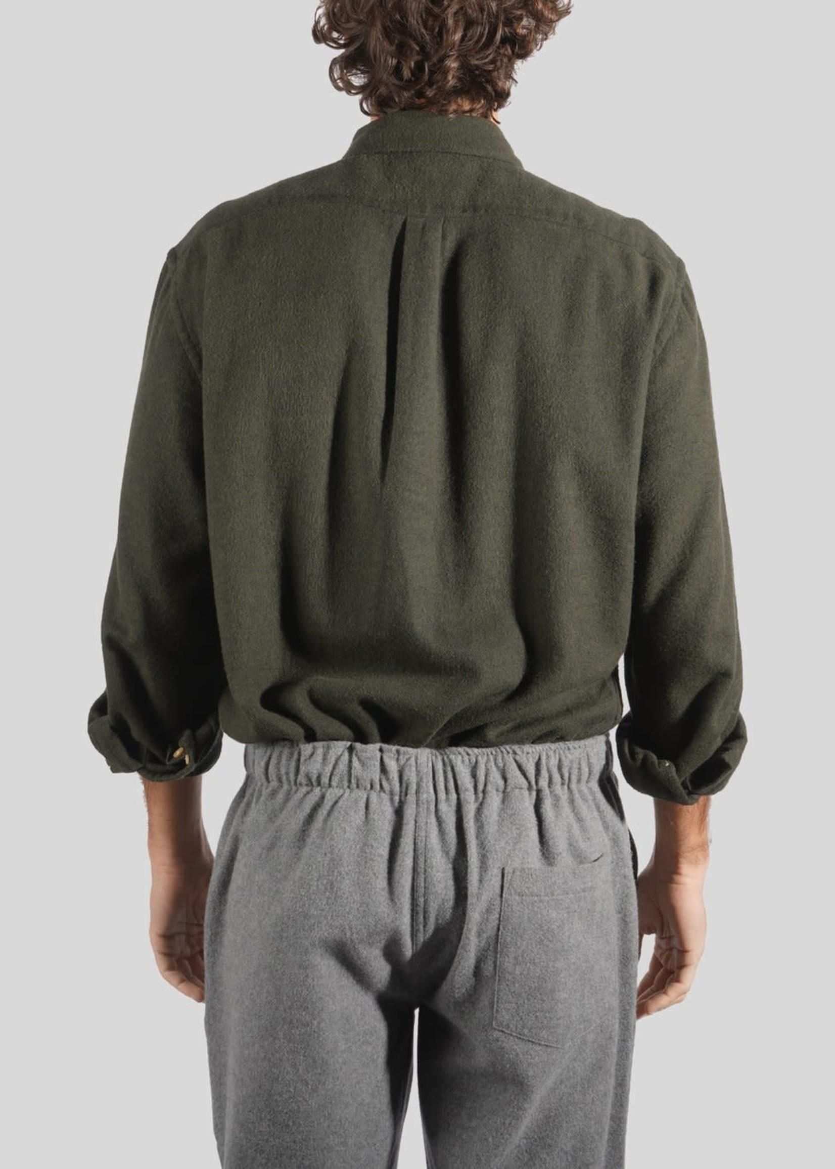 Portuguese Flannel Portuguese Flannel Teca Moss Flannel Sport Shirt