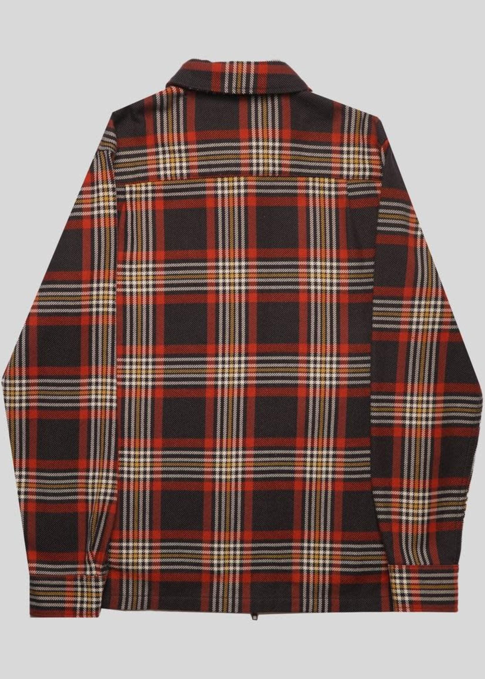 Portuguese Flannel Portuguese Flannel Sofa Zipper Shirt Jacket Multi Plaid