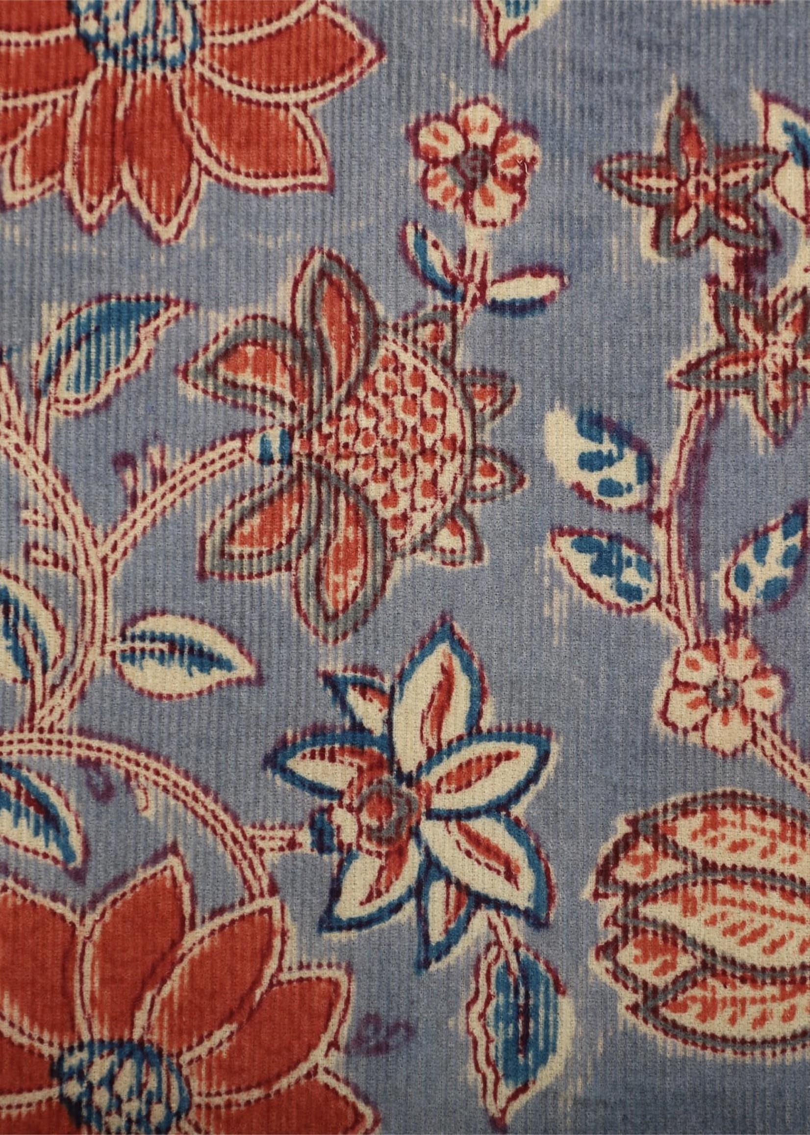 Kardo Kardo Anokhi Grey Floral Print