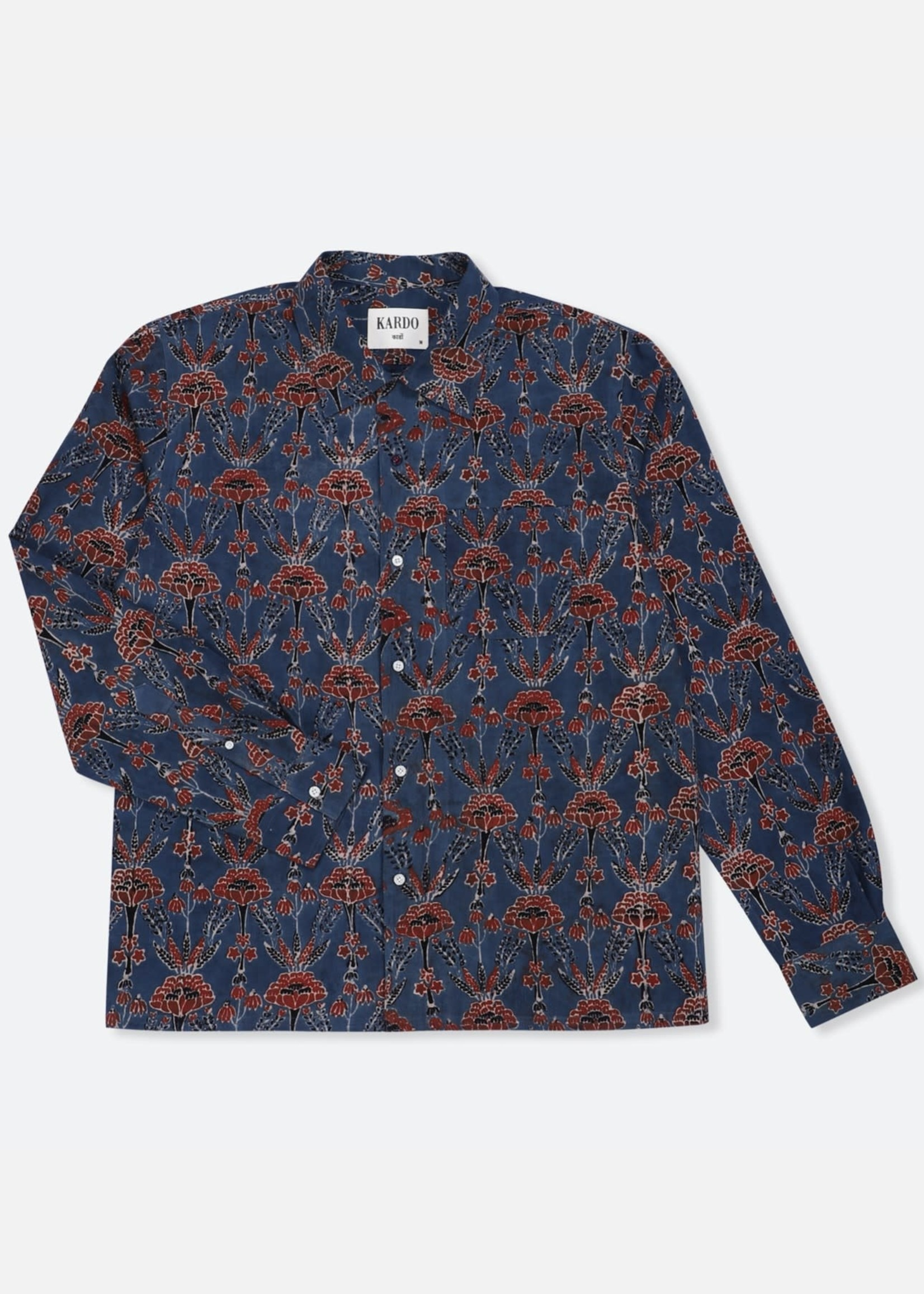 Kardo Kardo Chintan Blue L/S Shirt