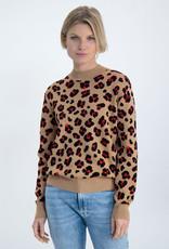 Garcia Chandail Leopard Garcia Brun Safari N00243