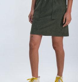 Garcia Jupe Courte garcia Vert Olive M00120