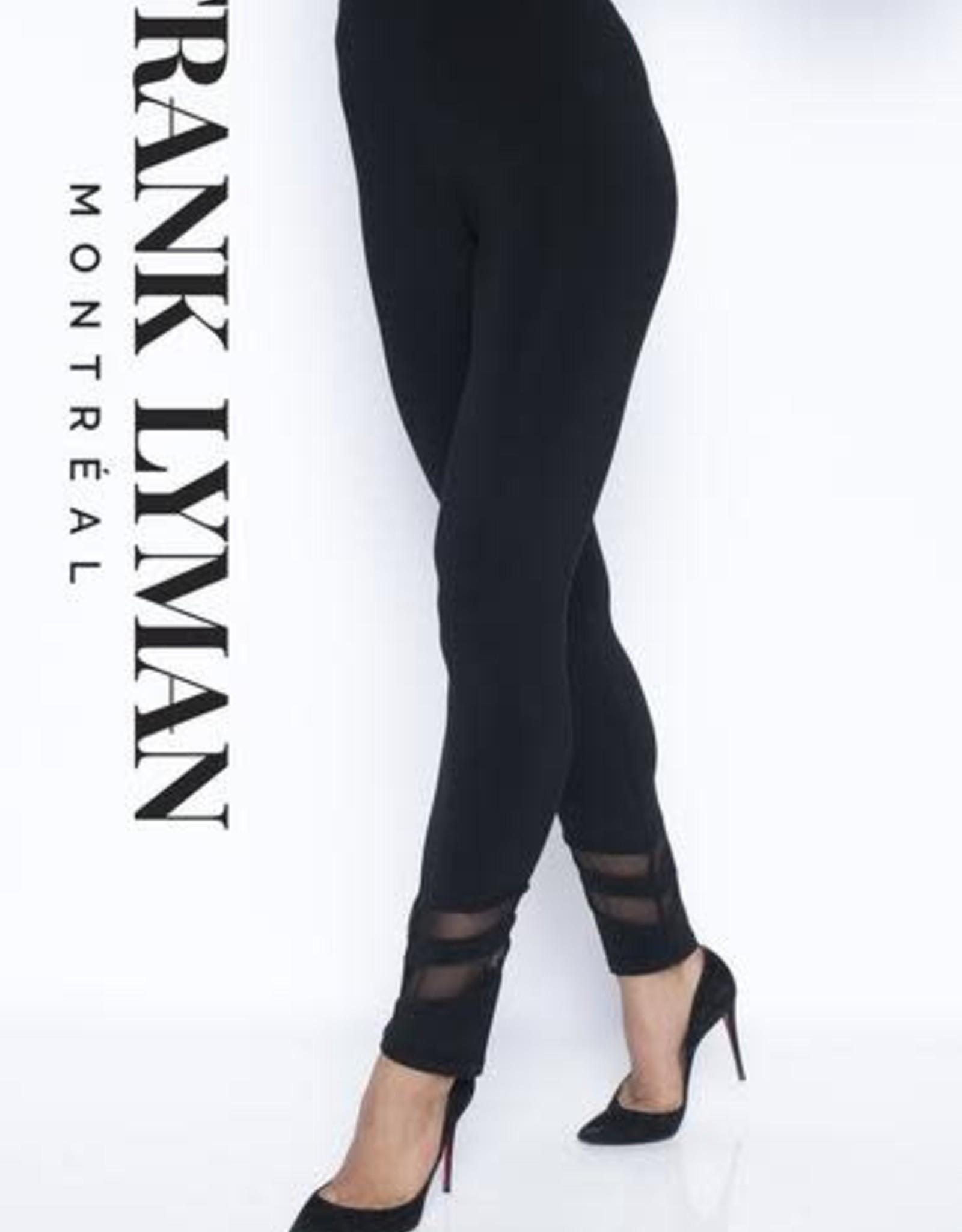 Frank Lyman Pantalon Legging Frank Lyman Details Filet aux chevilles 195005