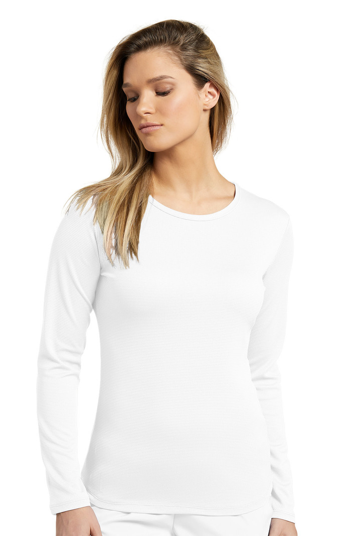 White Cross Fit T-Shirt Fit Manches Longues 206