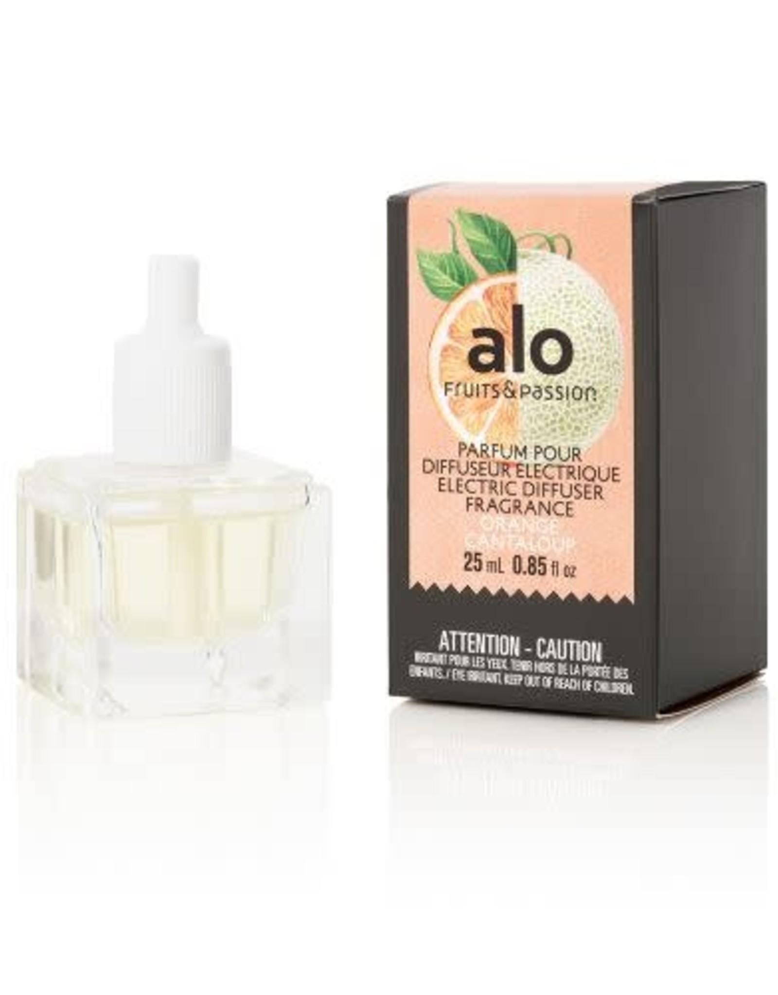 Fruits et Passion Parfum pour Diffuseur Électrique alo Orange Cantaloup 25ml