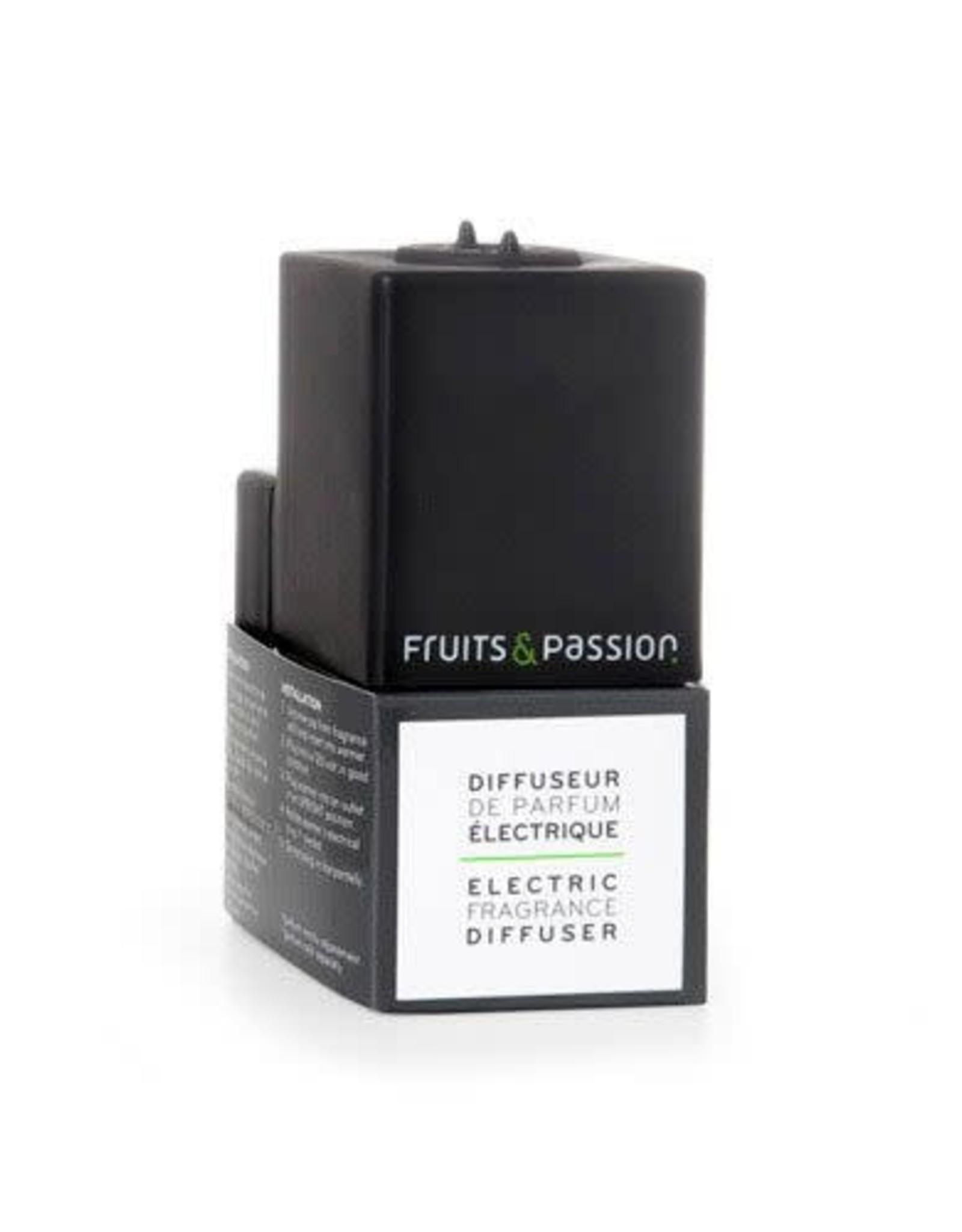 Fruits et Passion Diffuseur de Parfum Électrique Gris foncé