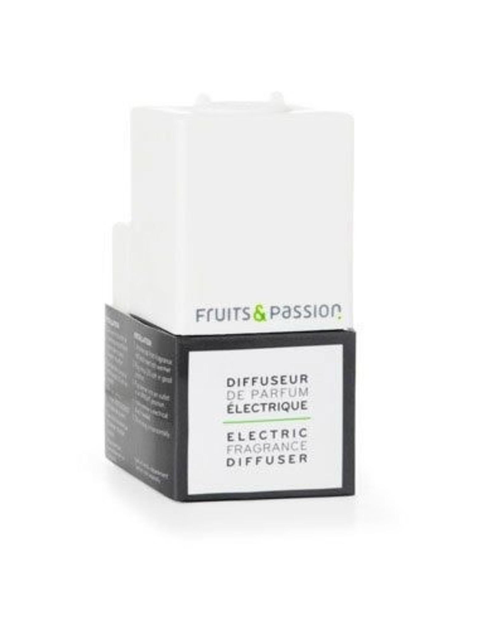 Fruits et Passion Diffuseur de Parfum Électrique Blanc