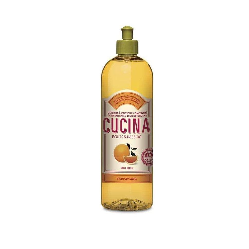 Fruits et Passion Détersif à vaisselle Orange Sanguinelli et Fenouil 500 ml