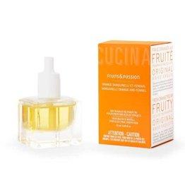 Fruits et Passion Recharge de Parfum pour Diffuseur Électrique Orange Sanguinelli et Fenouil 25ml