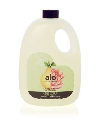 Fruits et Passion Recharge Savon Mains alo Poire Pivoine 1L