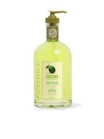 Fruits et Passion Savon Mains à L'Huile D'Olive Zeste de Lime et Cyprès 500ml