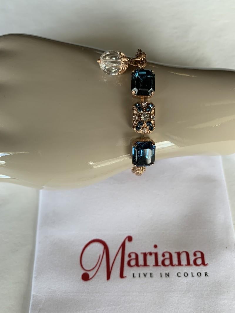 Mariana Bracelet Mariana B-4040/9 3 pierres Royal/Gold 2142RG