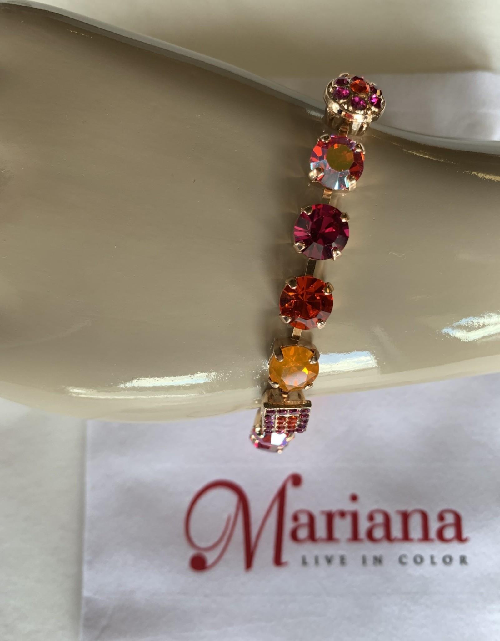 Mariana Bracelet Mariana B-4161 Orange/Fushia/Gold 1075RG
