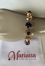 Mariana Bracelet Mariana B-4174 avec cristaux Swarovski Royal/Gold 2142-RG