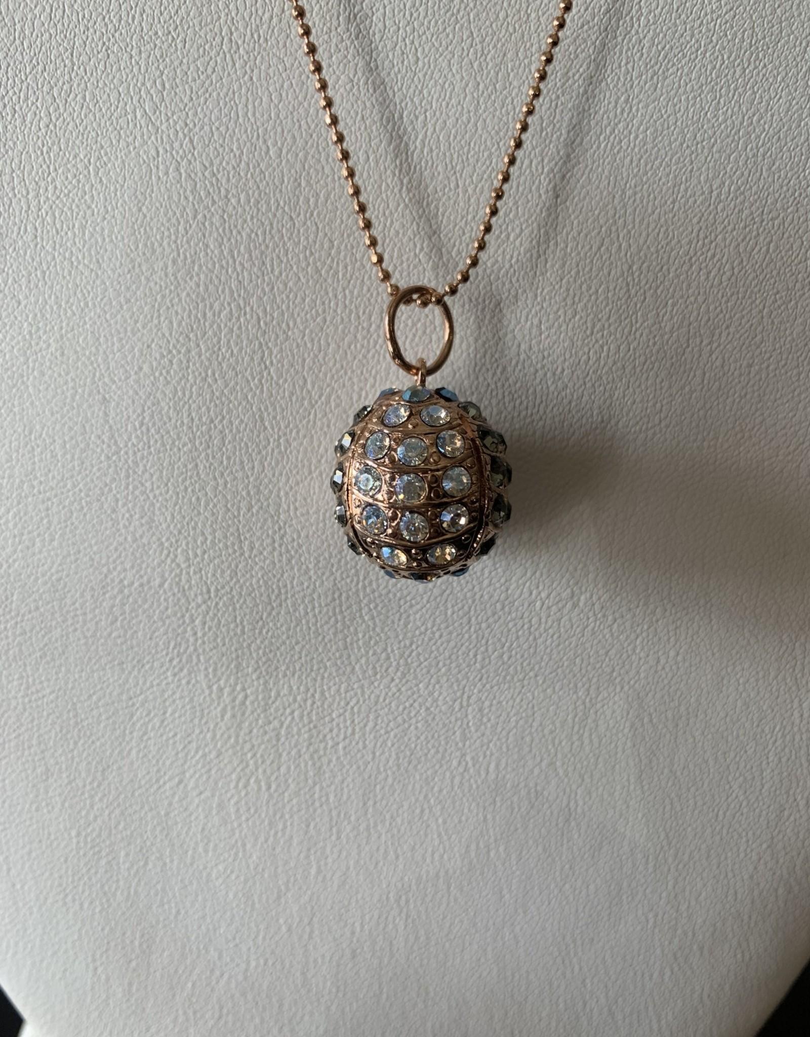 Mariana Collier Mariana N-5076 Ton Or avec Cristaux Swarovski Vert Forêt/Gold 512RG