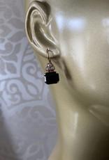 Mariana Boucles d'oreilles Mariana E-1014/7 avec pierres Noir/Multi/Gold 87280RG