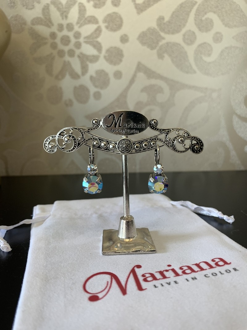 Mariana Boucles d'oreilles Mariana E-1037 My Treasures avec pierres Multi/Silver 141-SP6