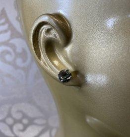 Mariana Boucles d'oreilles E-1440-Poteau Vert Khaki/Silver 215-SP2